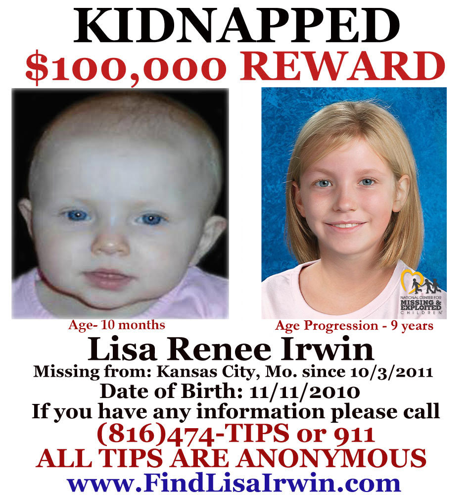 Lisa Irwin- Kidnapped